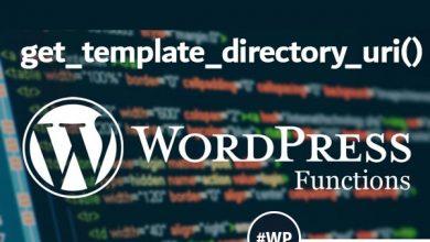 تصویر از get_template_directory_uri()